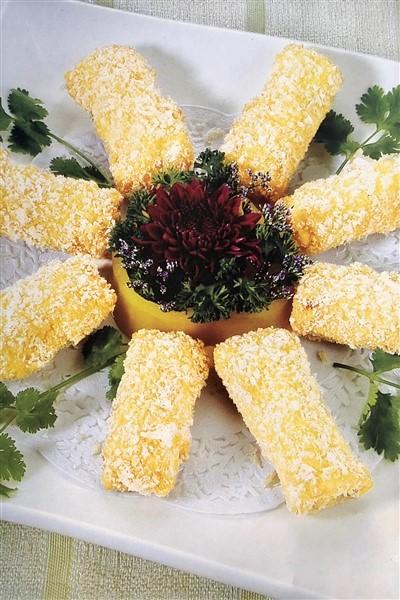 Crispy chinese deep fried milk unfamiliar china chinese crispy deep fried milk with dipping sauce forumfinder Gallery